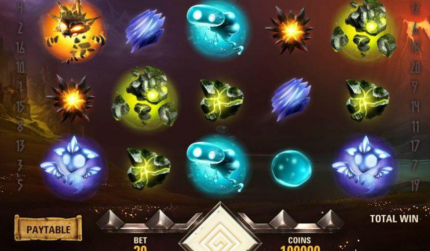 Elements The Awakening Slot
