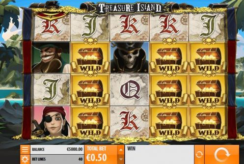 Treasure Island Slot