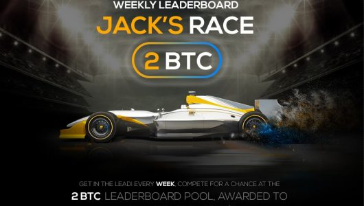 FortuneJack Leaderboard Races Win Up to 2BTC